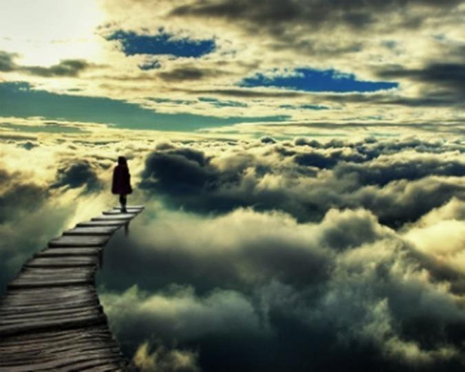 walking-through-clouds